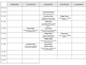 FLB - Dédicaces 2014